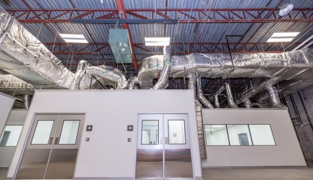 engineering for turnkey cleanrooms