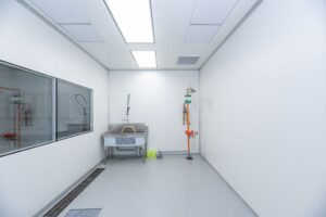 Washup Room_ISO#8 modular cleanroom walls